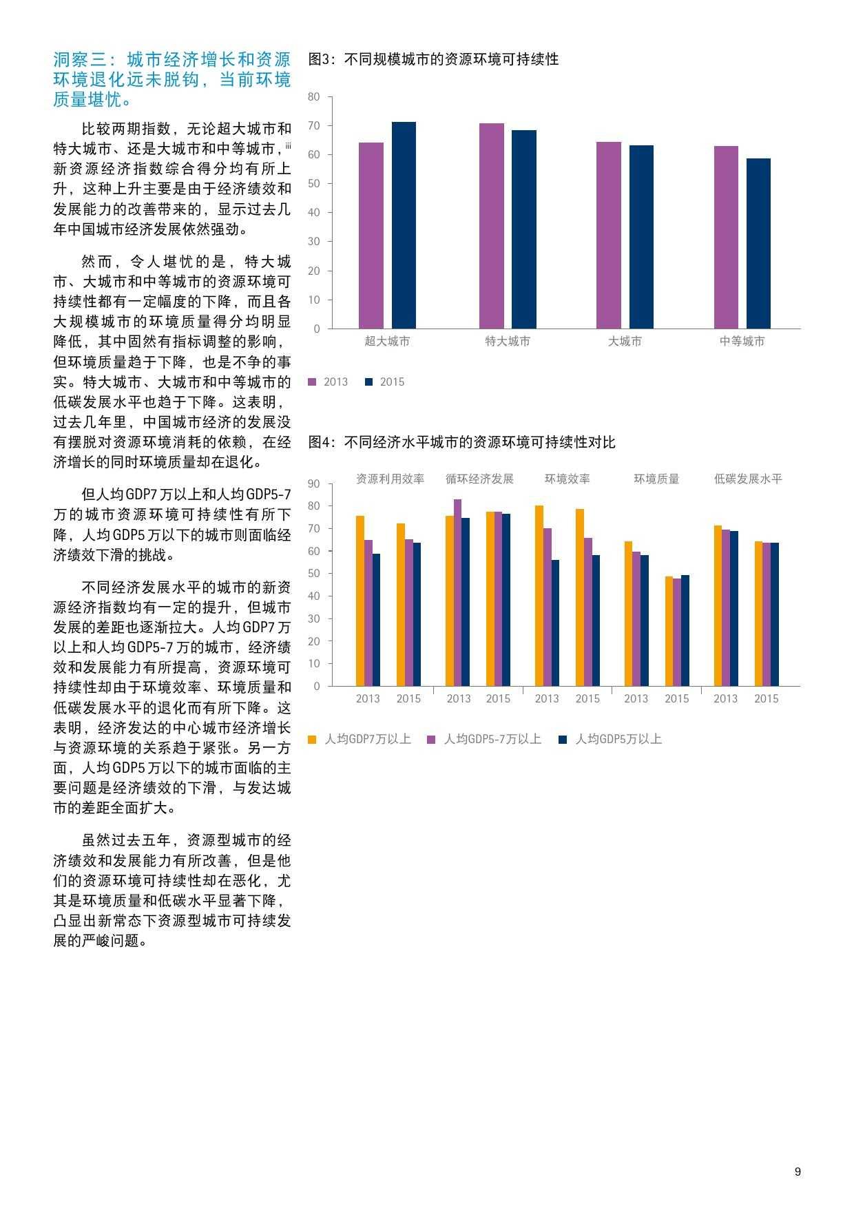 埃森哲&中科院:2015年新资源经济城市指数_000009