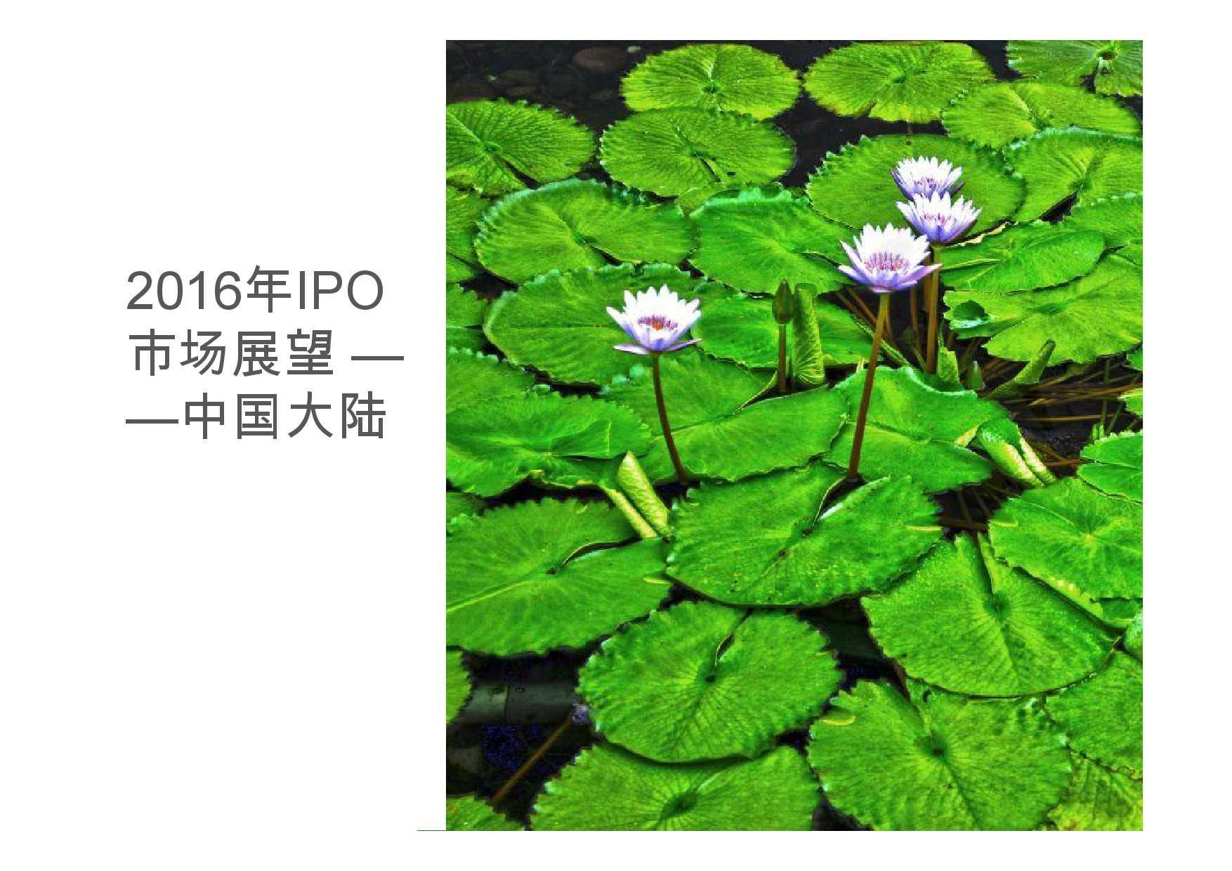 德勤:香港及中国大陆IPO巿场2015年回顾与2016年展望_000037