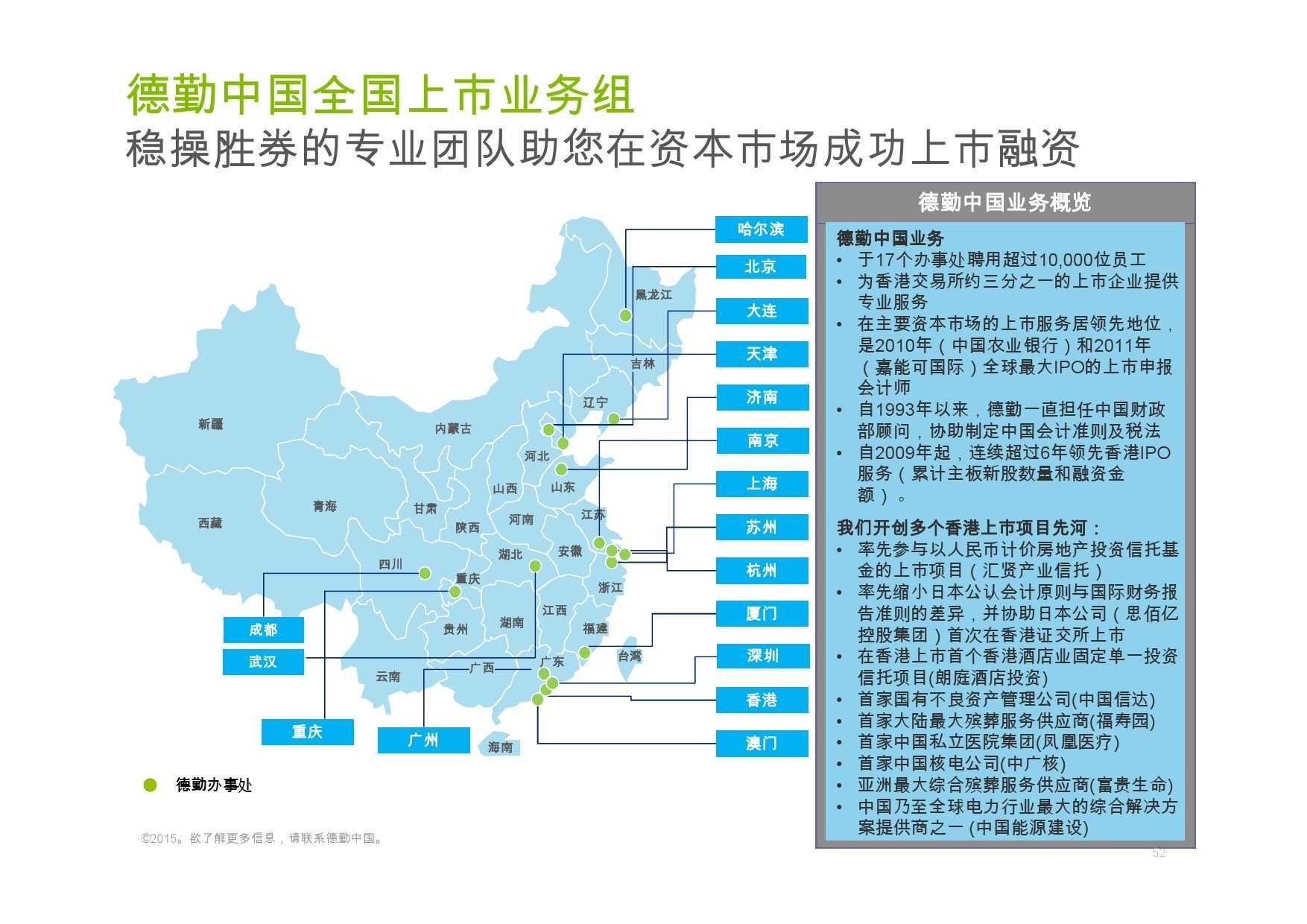 德勤:香港及中国大陆IPO巿场2015年回顾与2016年展望_000052