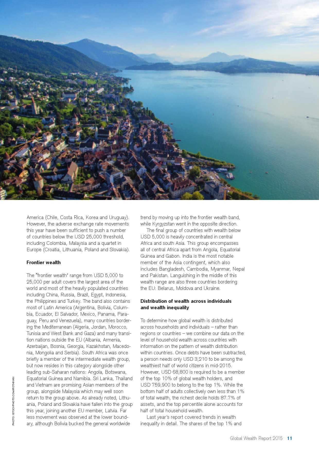 瑞士信贷:2015年全球财富报告_000011