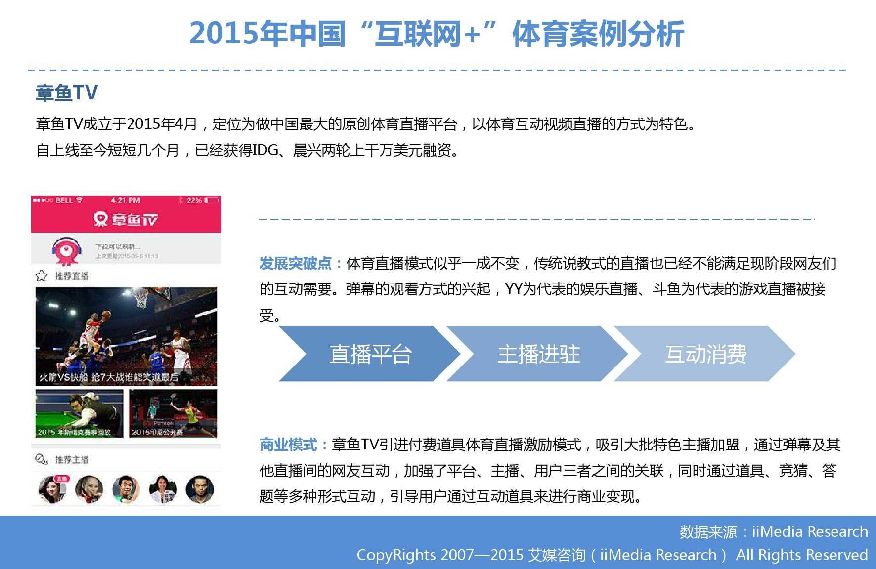 """艾媒咨询:2015年中国""""互联网+""""体育研究_000039"""