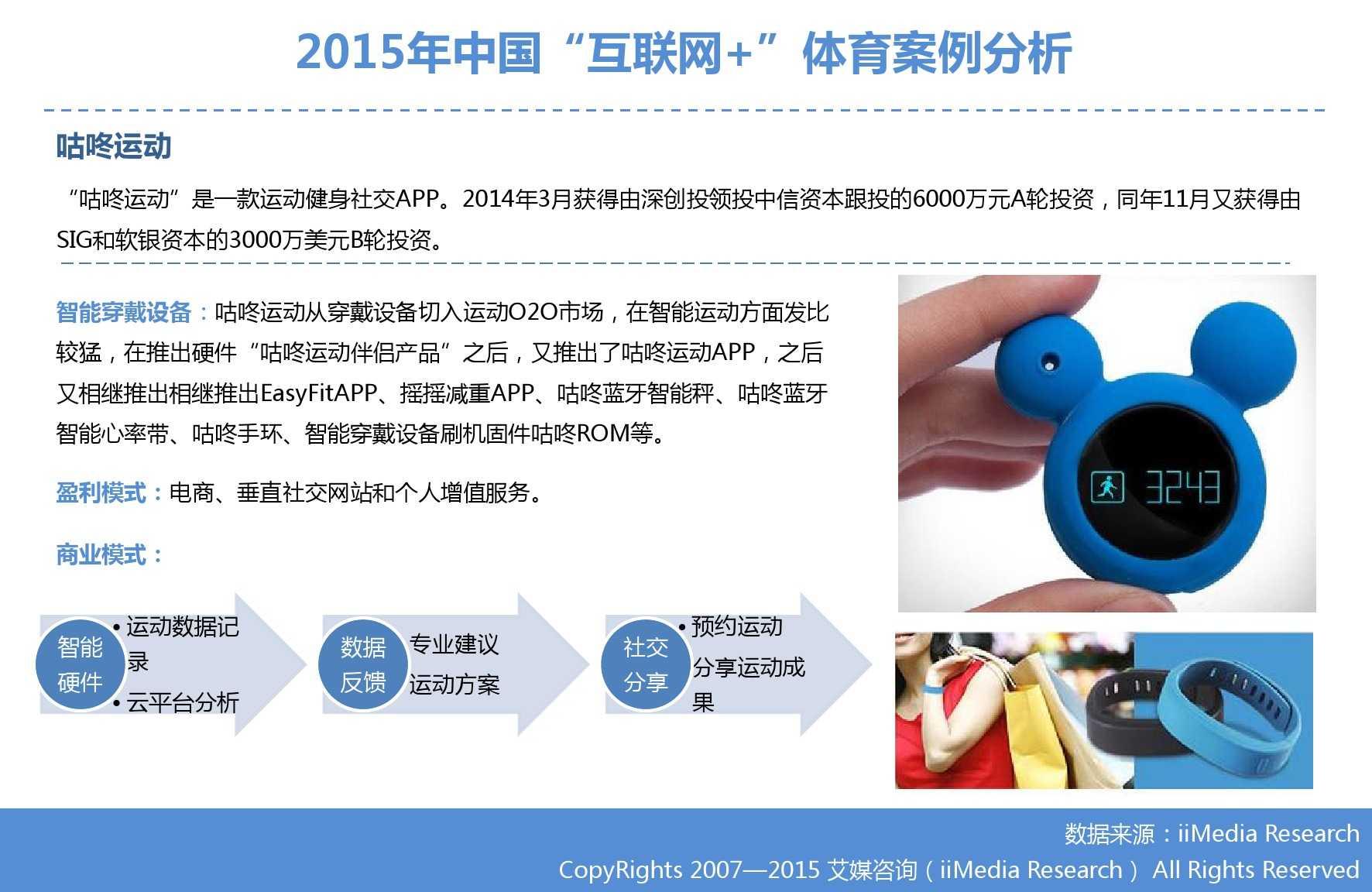 """艾媒咨询:2015年中国""""互联网+""""体育研究_000040"""