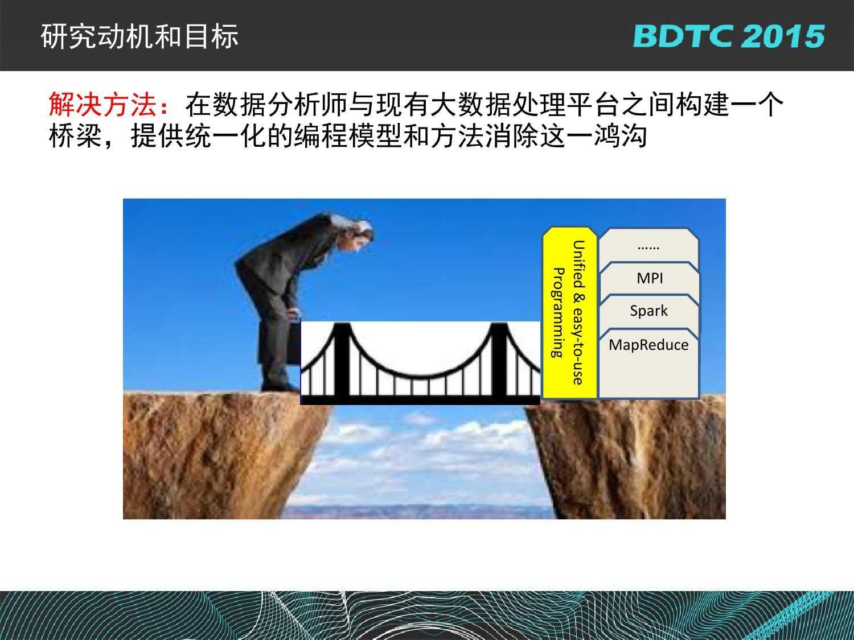07 BDTC2015-南京大学-黄宜华-Octopus(大章鱼):基于R语言的跨平台大数据机器学习与数据分析系统_000080