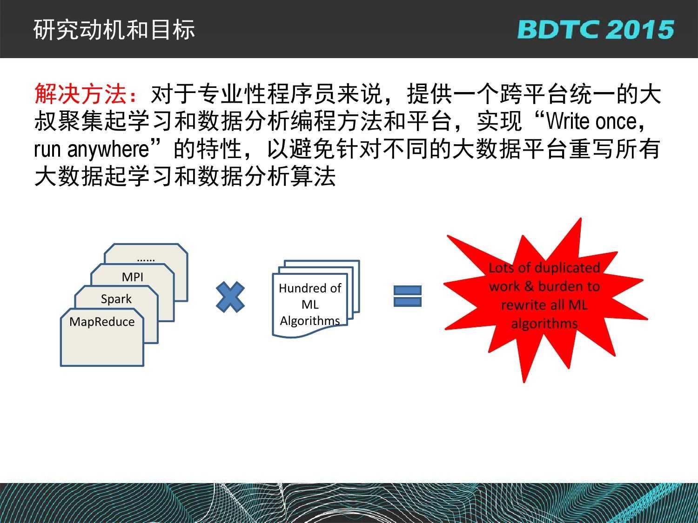 07 BDTC2015-南京大学-黄宜华-Octopus(大章鱼):基于R语言的跨平台大数据机器学习与数据分析系统_000081