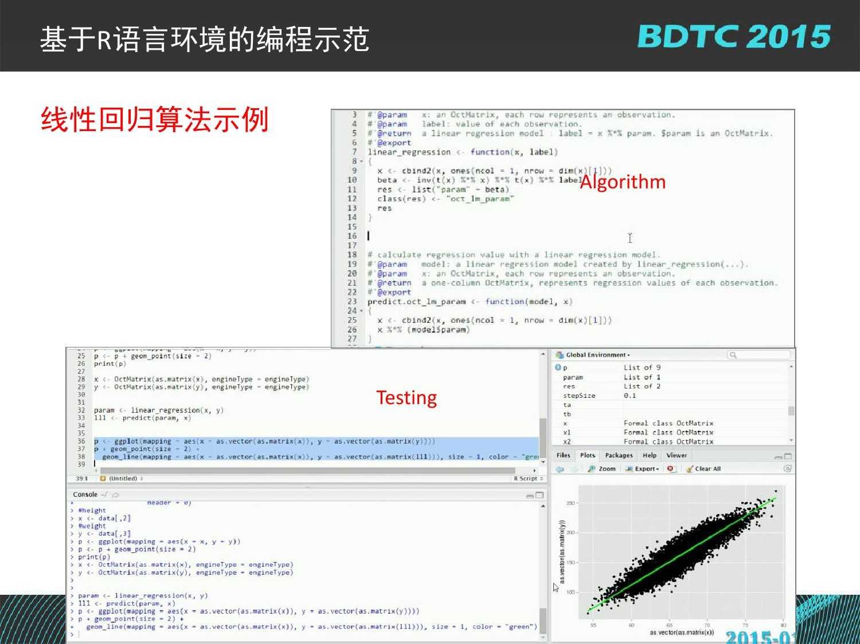 07 BDTC2015-南京大学-黄宜华-Octopus(大章鱼):基于R语言的跨平台大数据机器学习与数据分析系统_000128