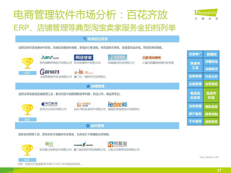2015年中国电子商务软件行业研究报告_000017