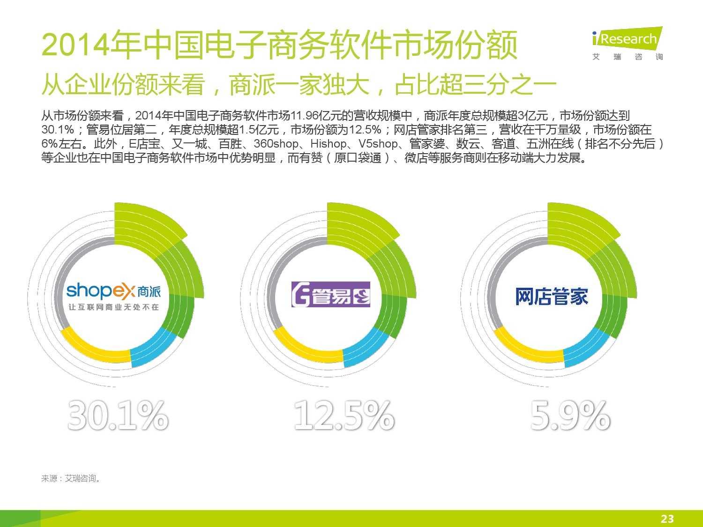 2015年中国电子商务软件行业研究报告_000023