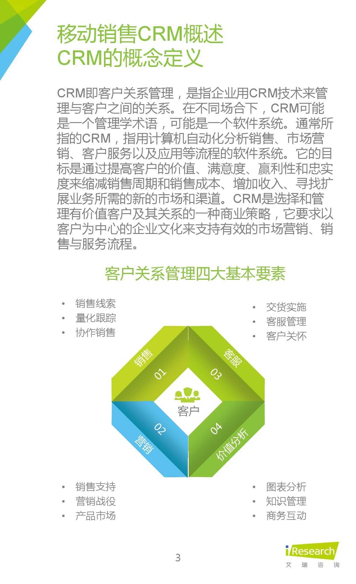 2015年中国移动销售CRM行业研究报告_000003