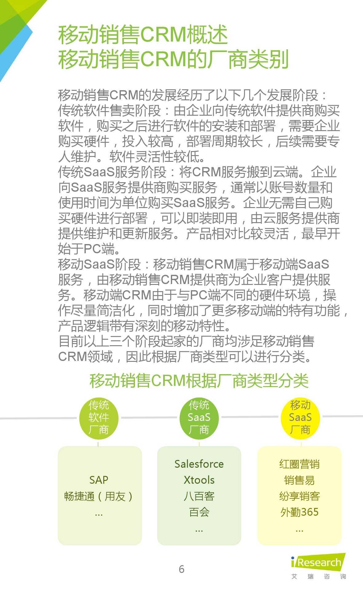 2015年中国移动销售CRM行业研究报告_000006