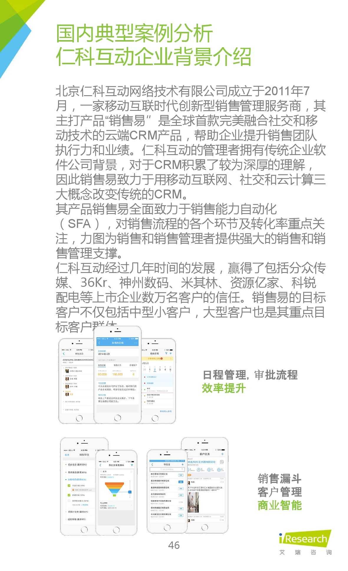 2015年中国移动销售CRM行业研究报告_000046