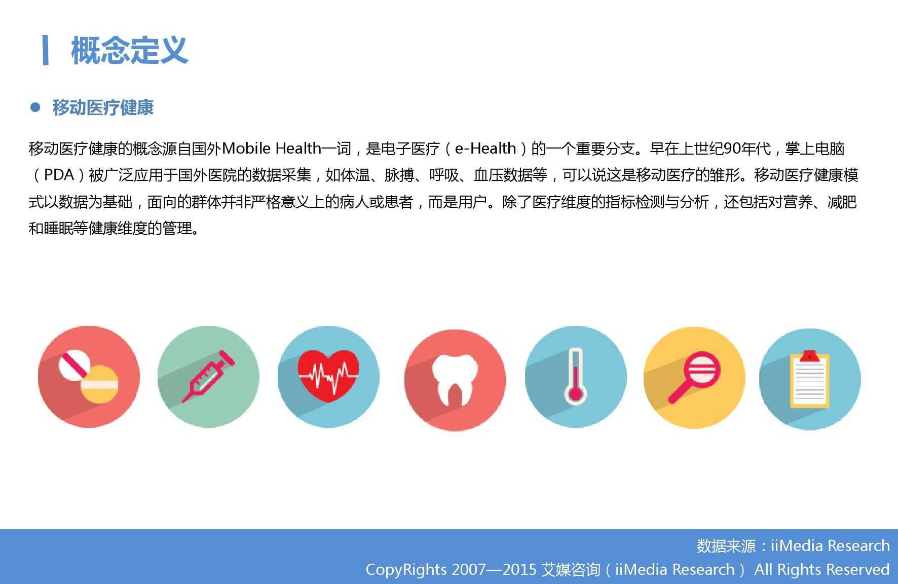 2015年Q3中国移动医疗健康市场监测报告_000003