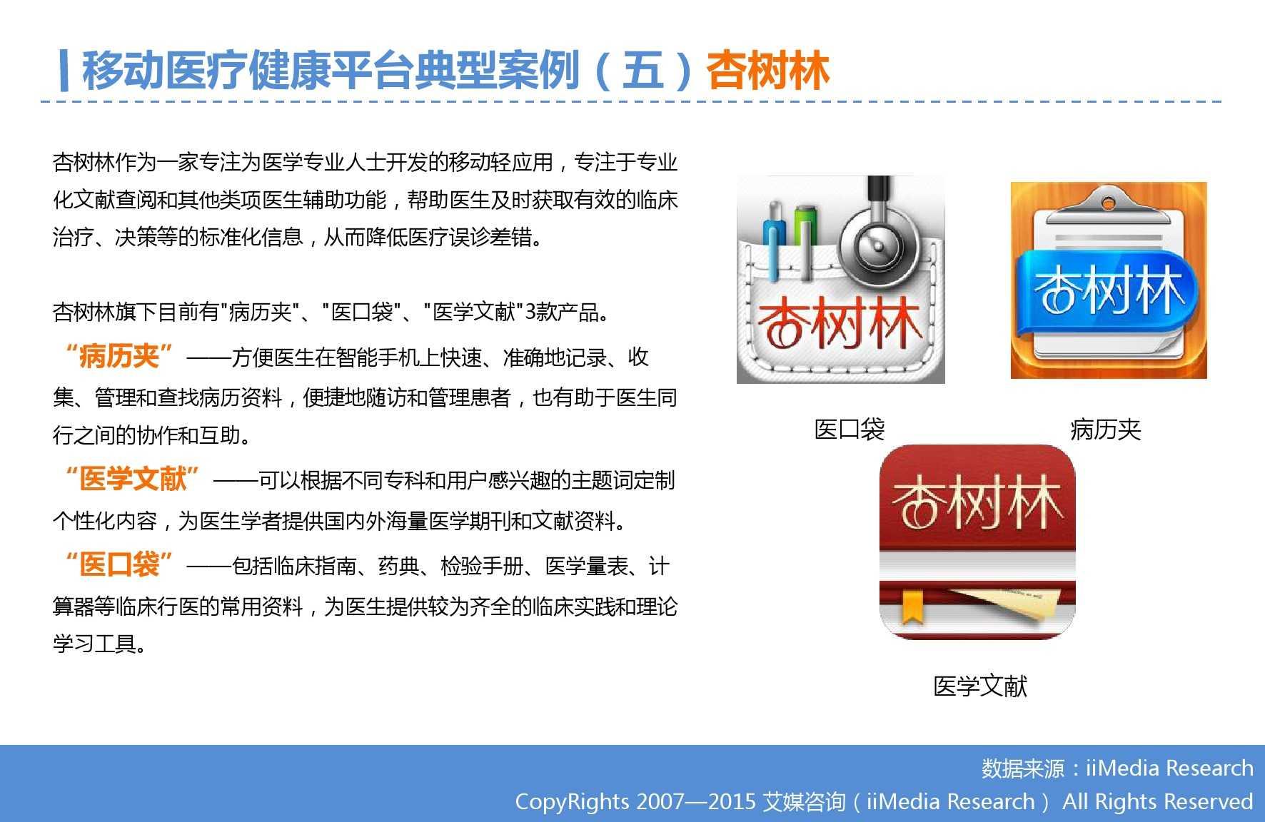 2015年Q3中国移动医疗健康市场监测报告_000021