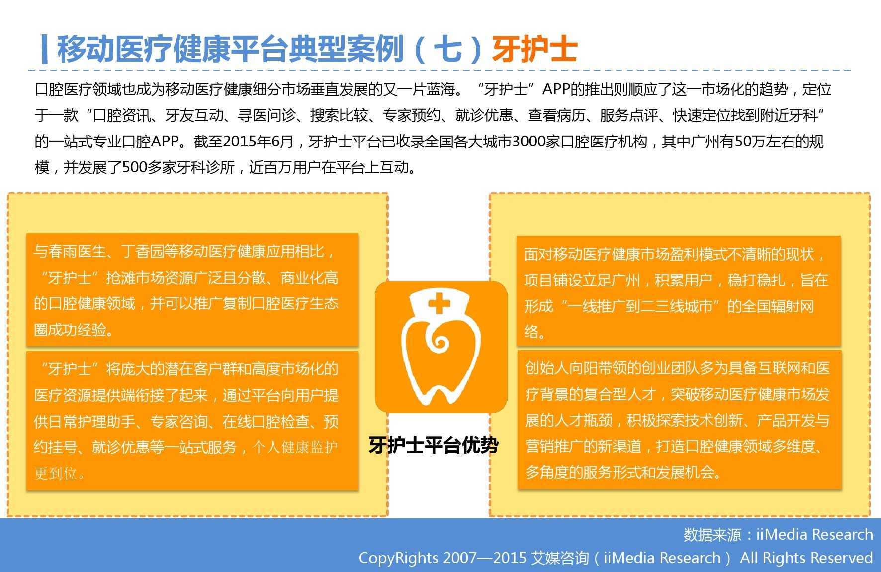 2015年Q3中国移动医疗健康市场监测报告_000023