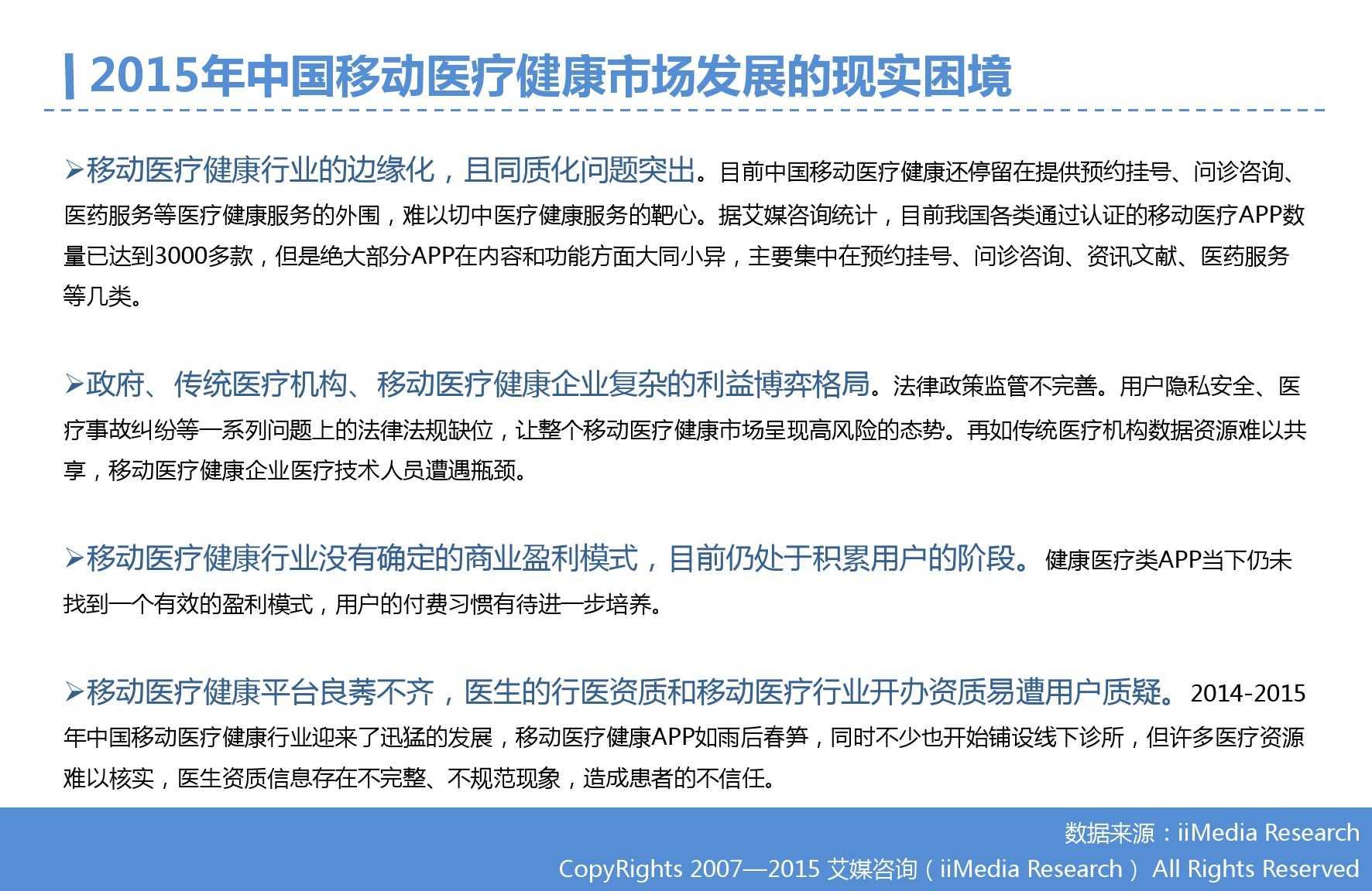 2015年Q3中国移动医疗健康市场监测报告_000024