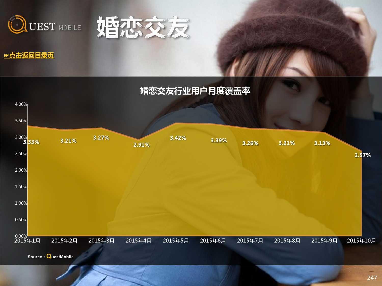 QuestMobile:2015年Q3中国移动互联网行业盘点_000247