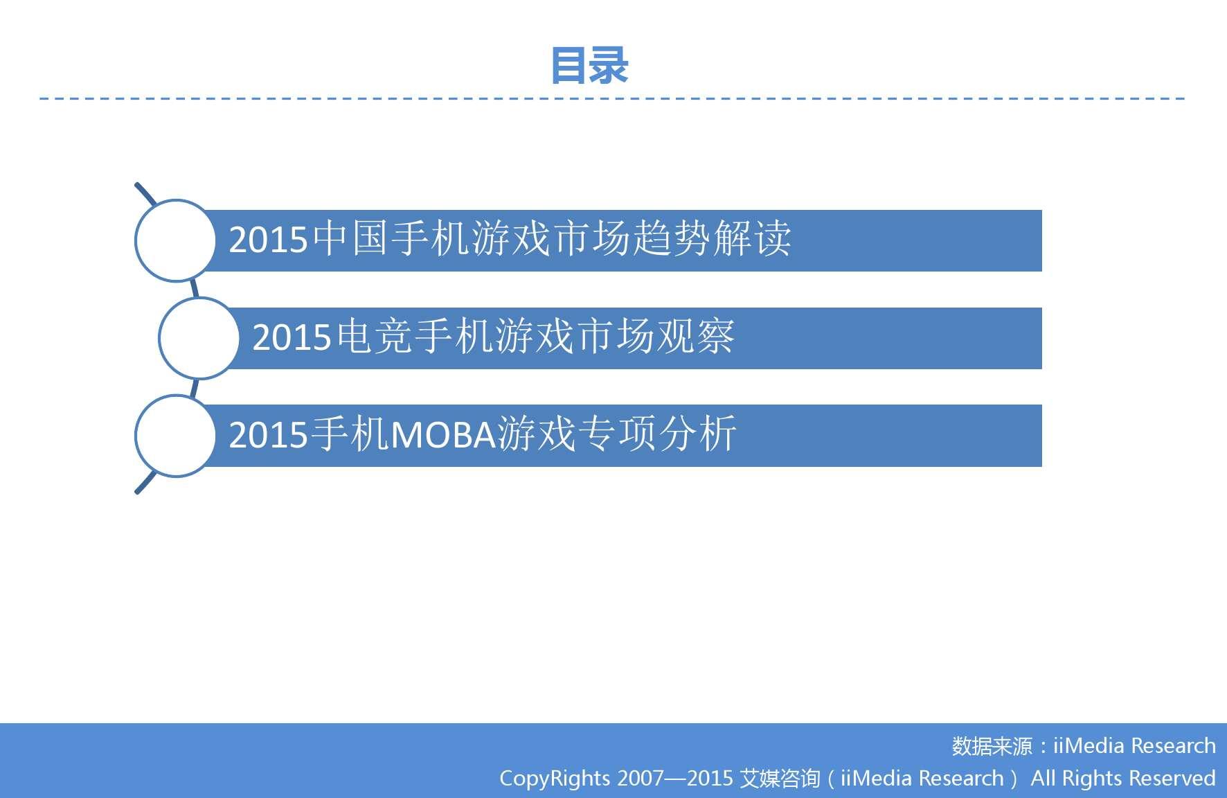 艾媒咨询:2015Q3中国手机游戏市场季度监测报告_000003