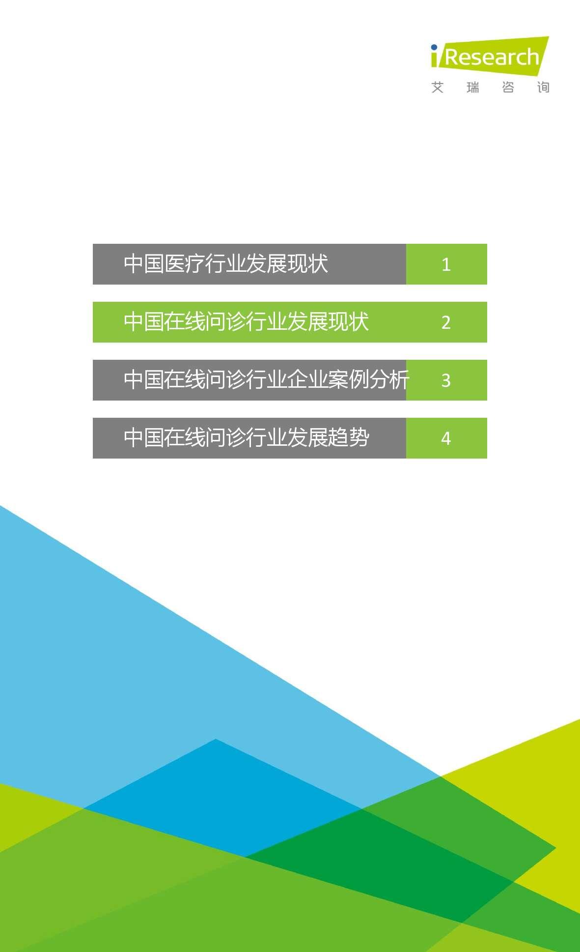 2015年中国在线问诊行业研究报告_000015