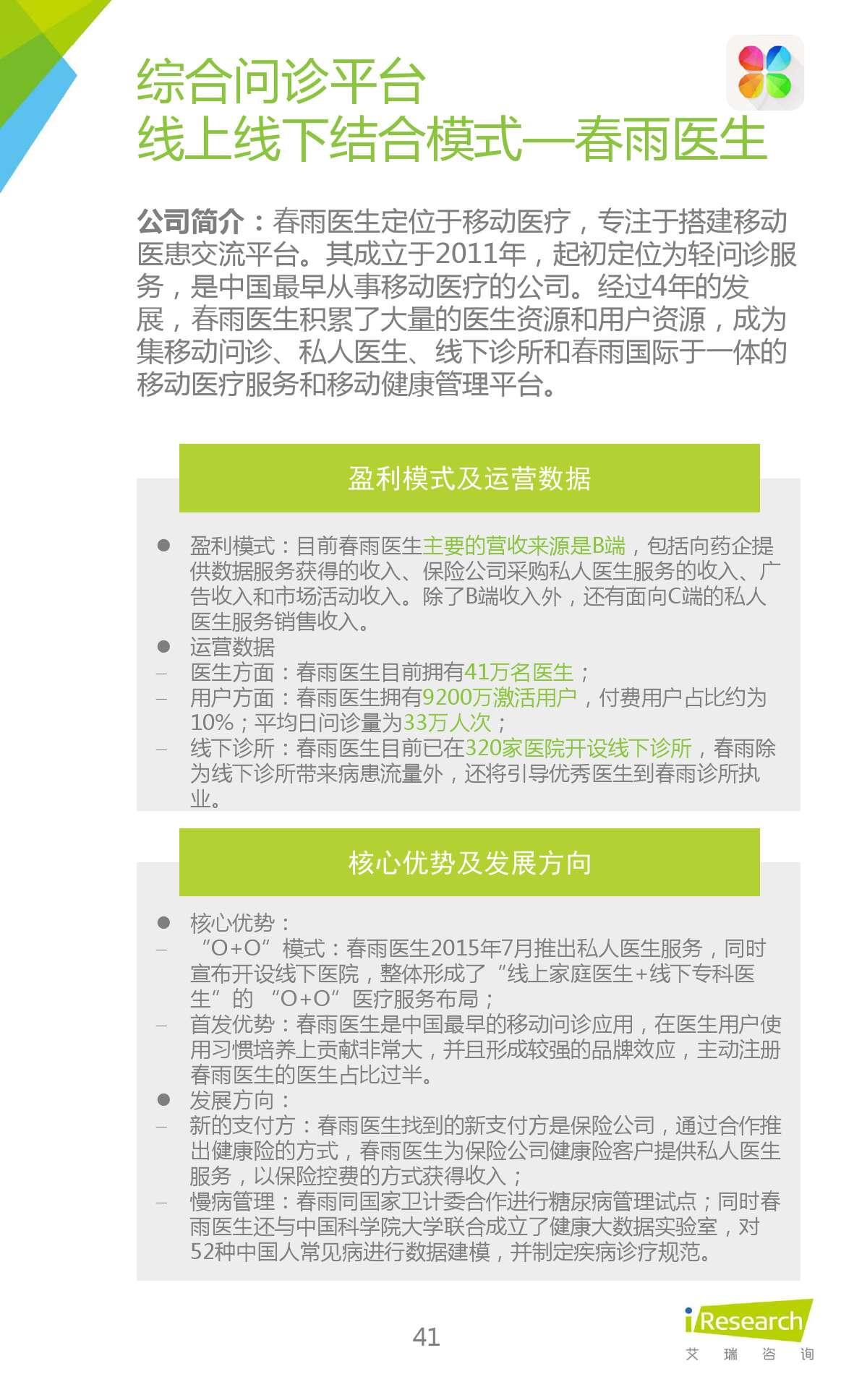 2015年中国在线问诊行业研究报告_000041