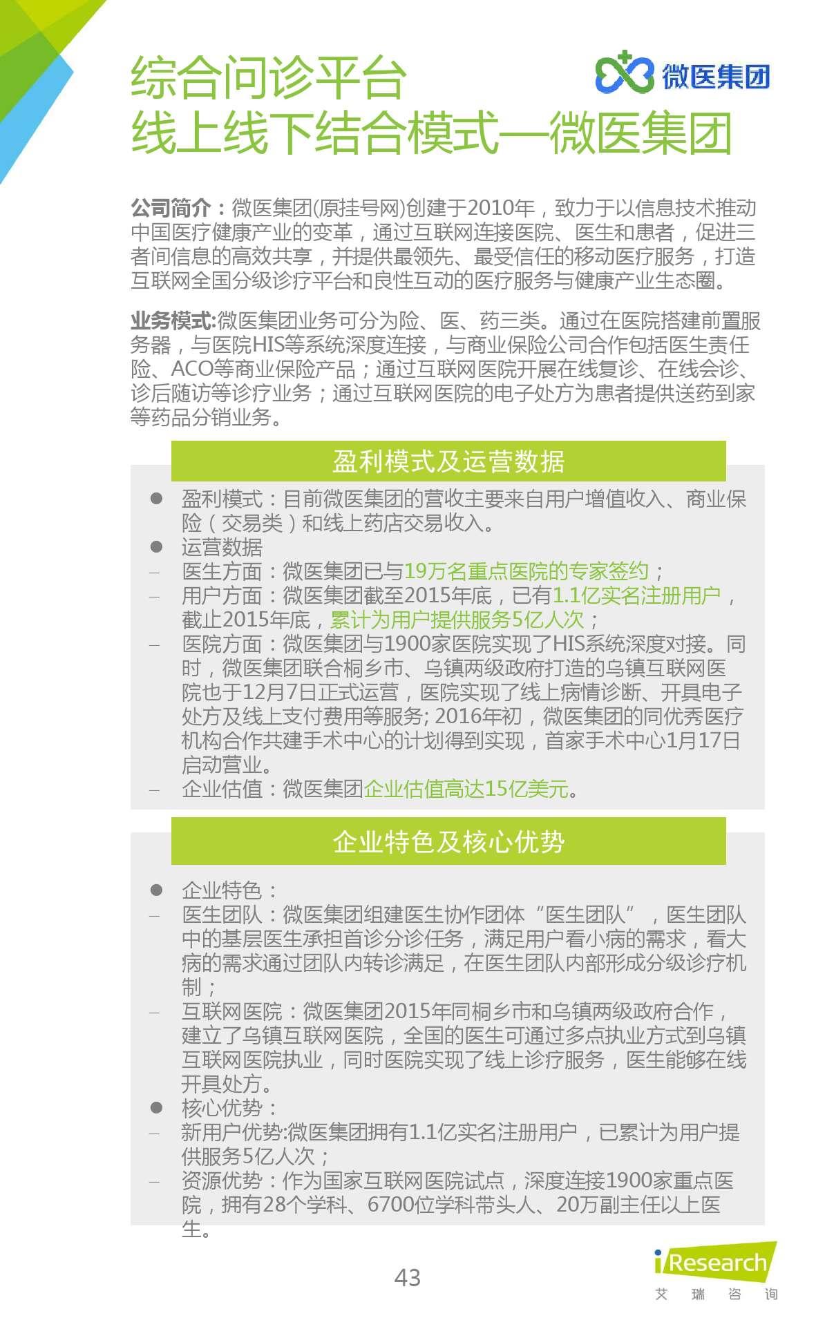 2015年中国在线问诊行业研究报告_000043
