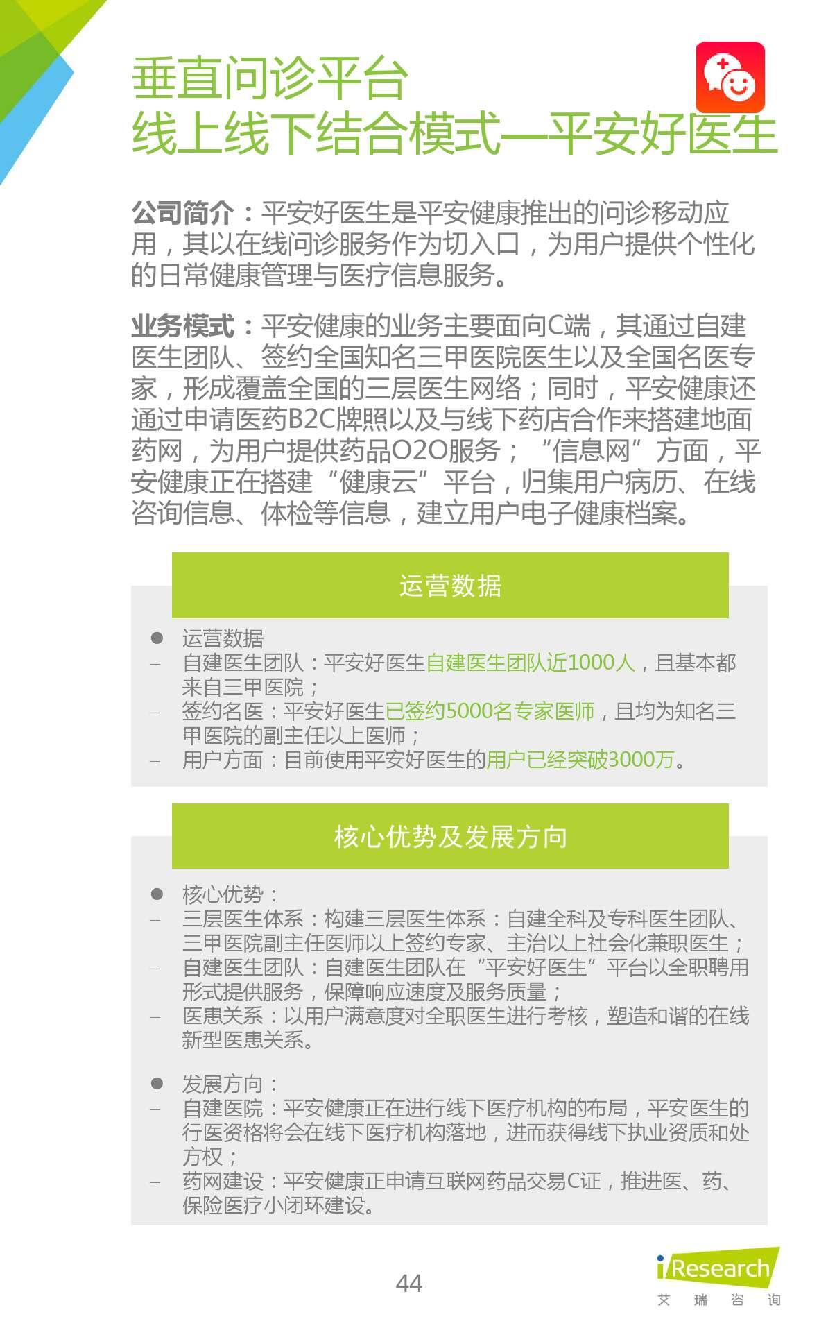 2015年中国在线问诊行业研究报告_000044
