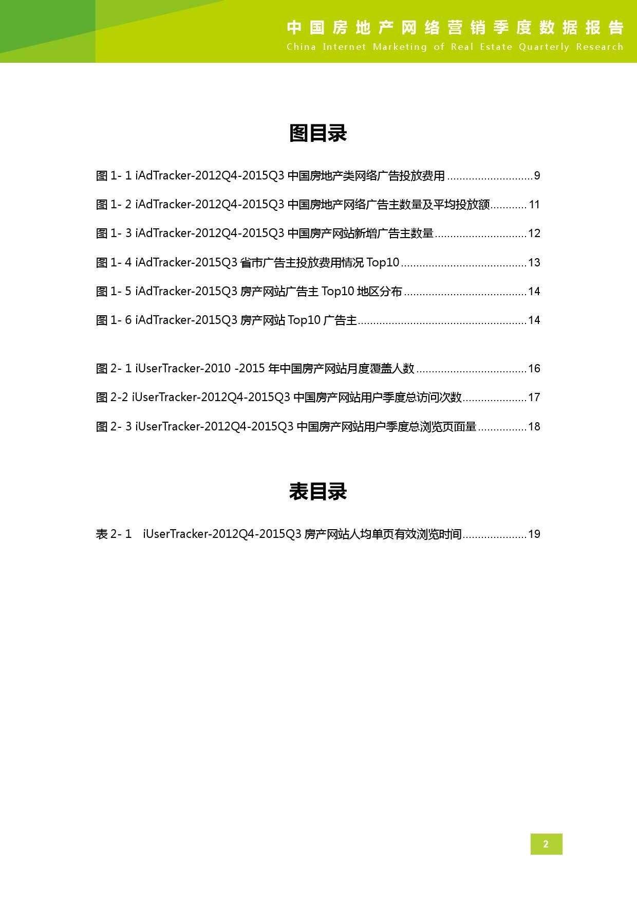 2015年Q3中国房地产网络营销季度数据报告_000003
