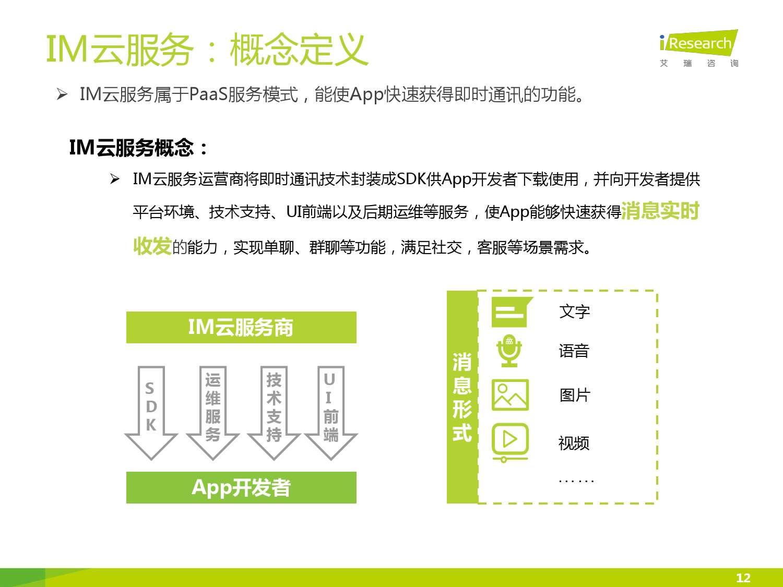 2016年中国IM云服务行业白皮书_000012