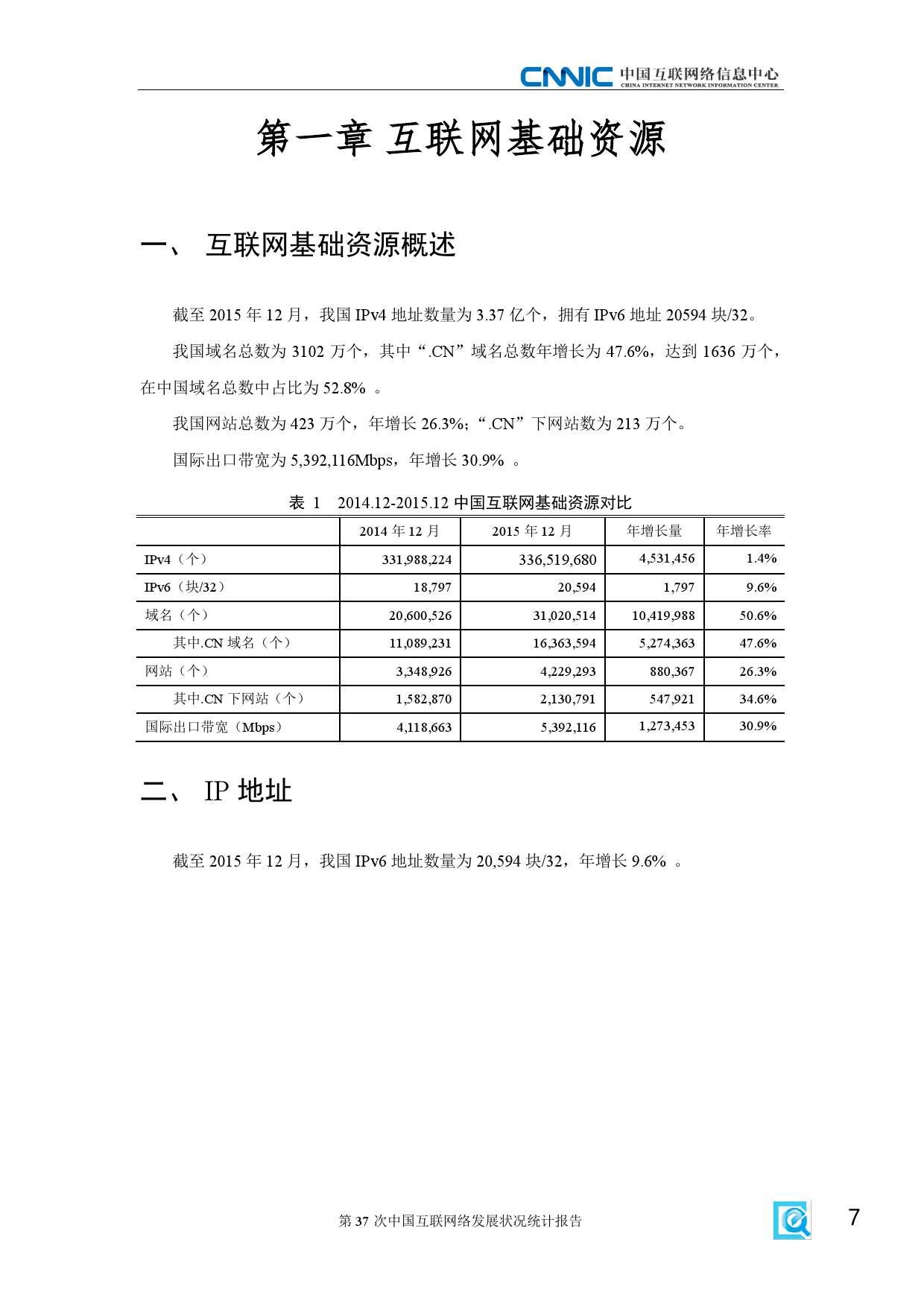 CNNIC:2015年第37次中国互联网络发展状况统计报告_000013