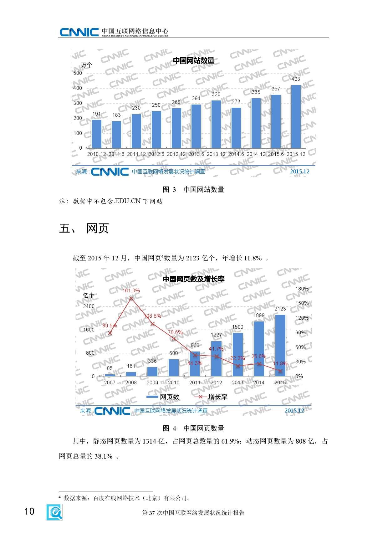 CNNIC:2015年第37次中国互联网络发展状况统计报告_000016