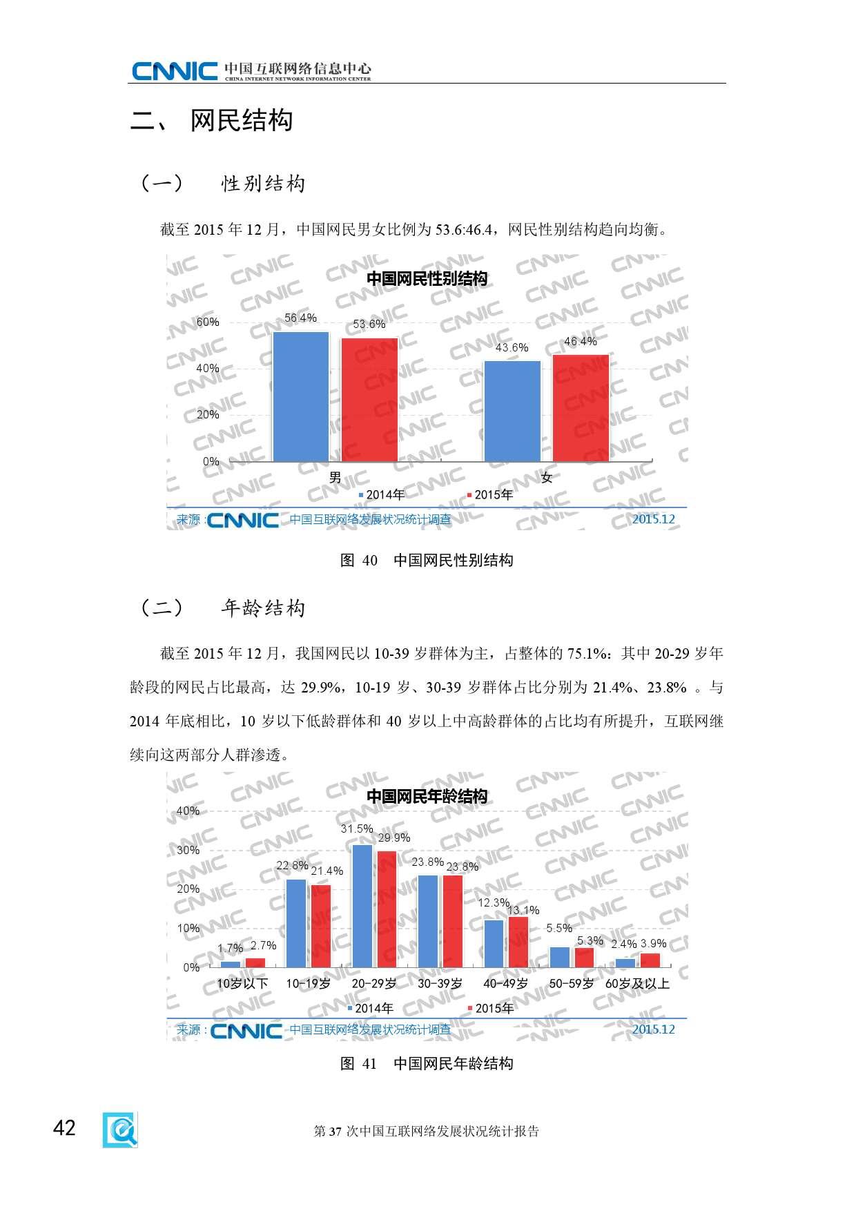 CNNIC:2015年第37次中国互联网络发展状况统计报告_000048