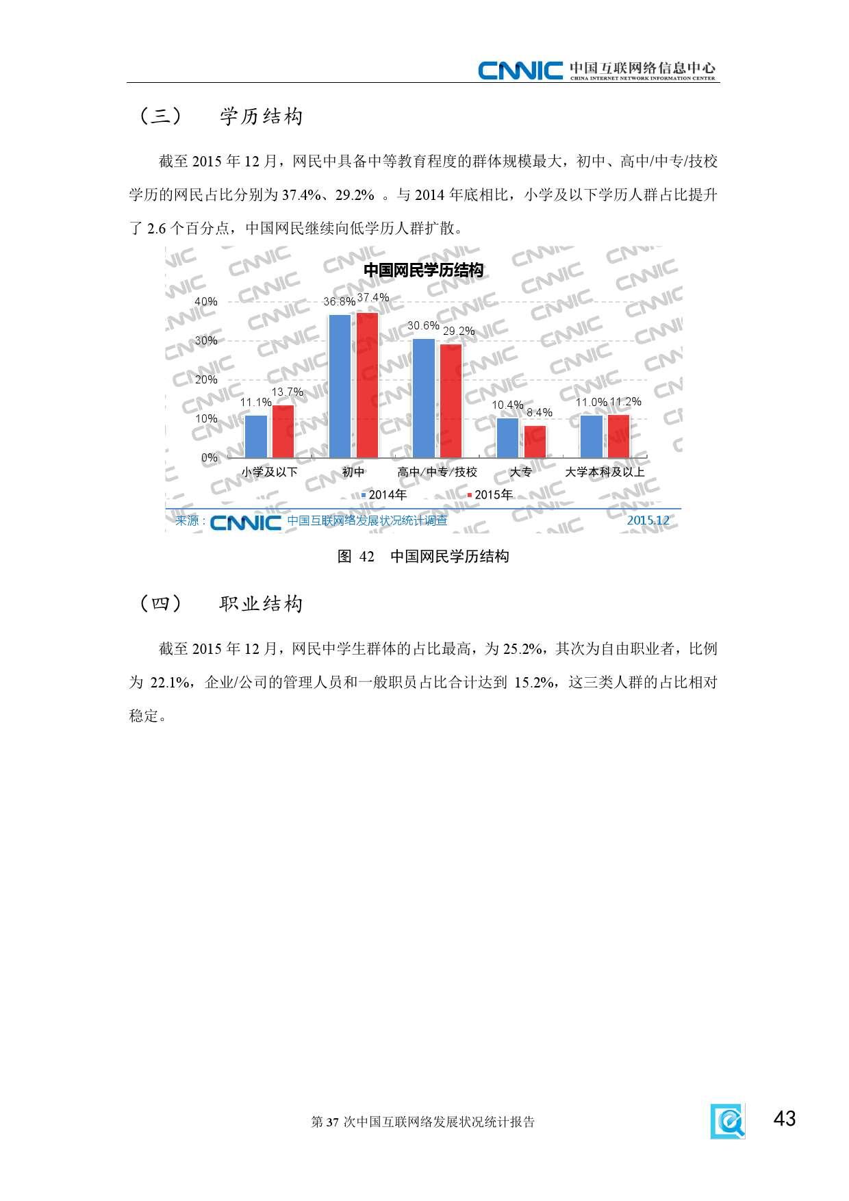CNNIC:2015年第37次中国互联网络发展状况统计报告_000049