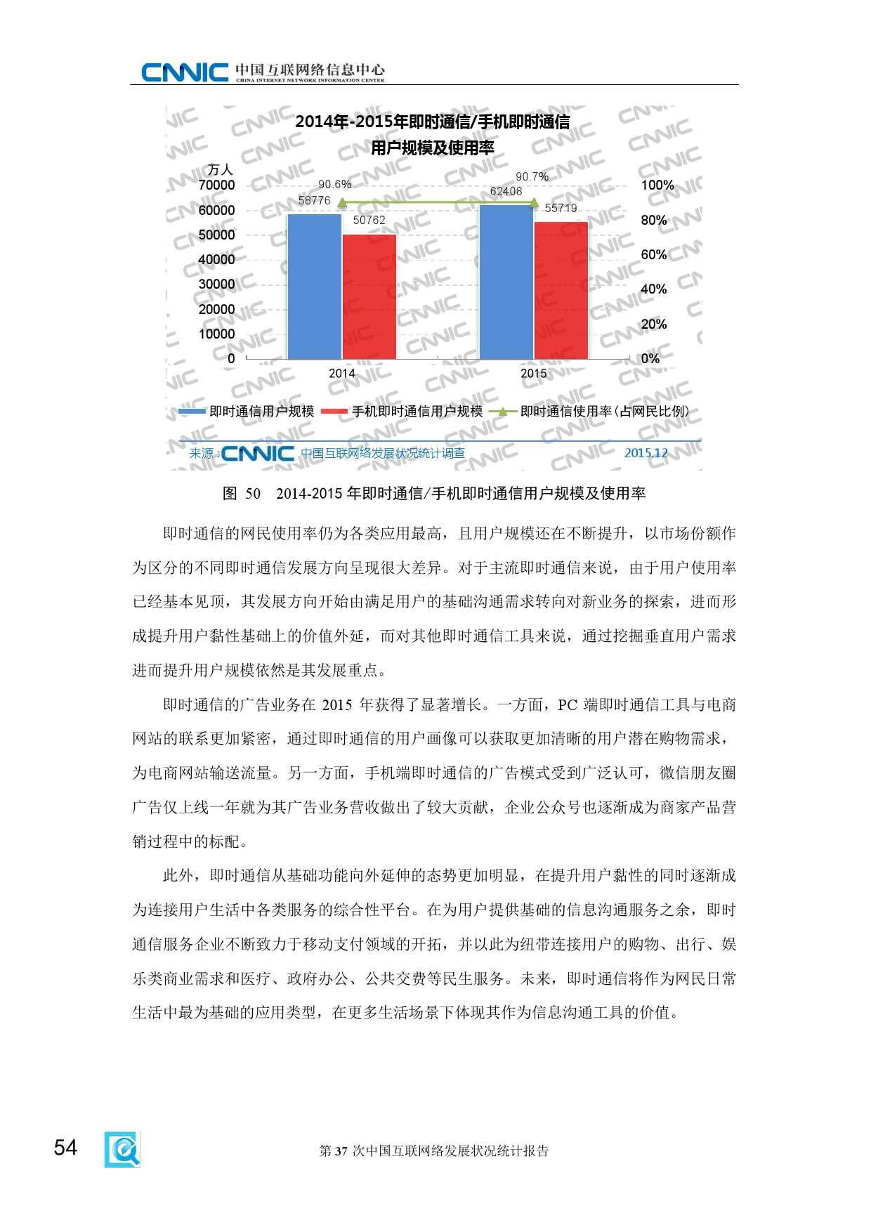 CNNIC:2015年第37次中国互联网络发展状况统计报告_000060