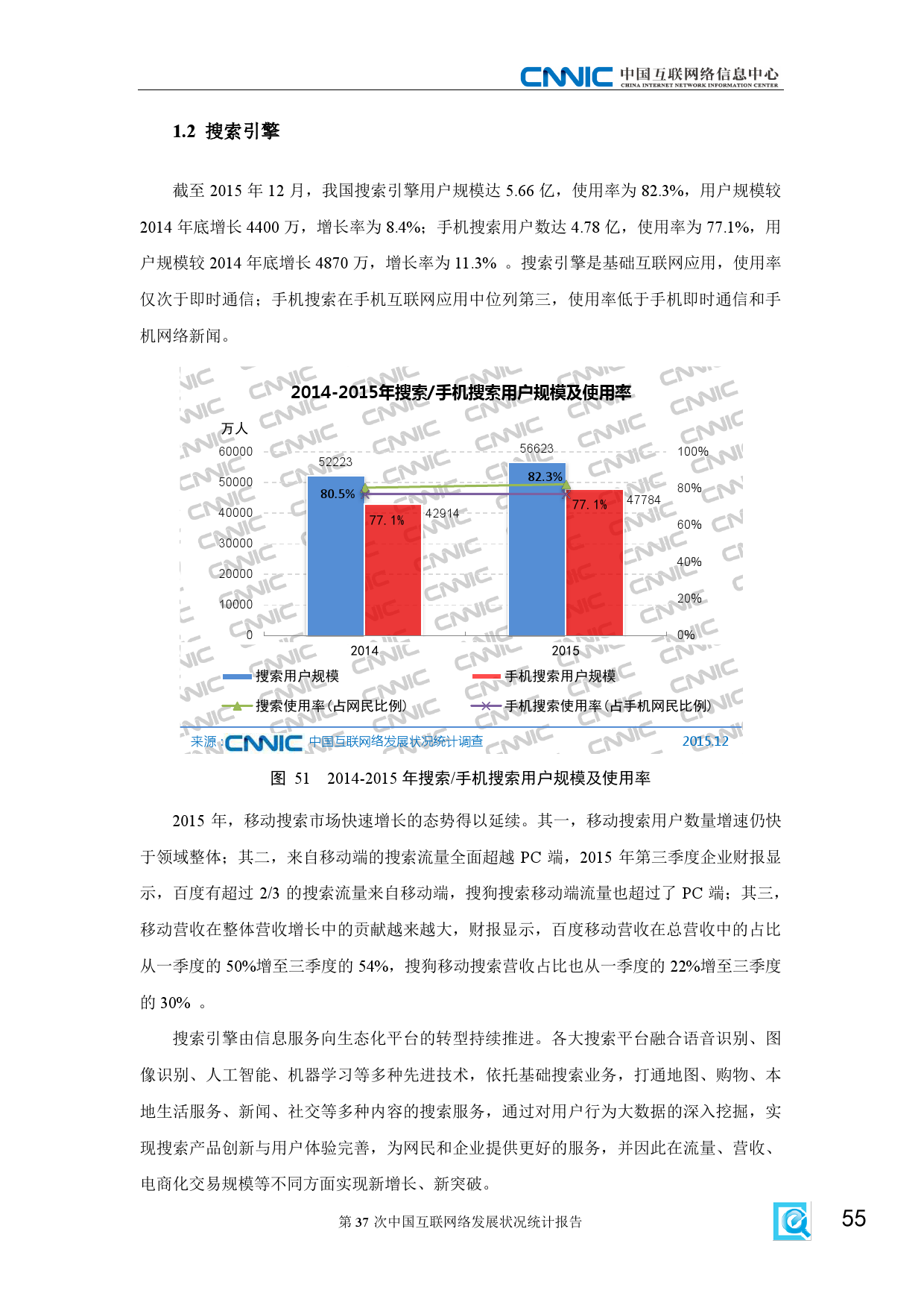 CNNIC:2015年第37次中国互联网络发展状况统计报告_000061