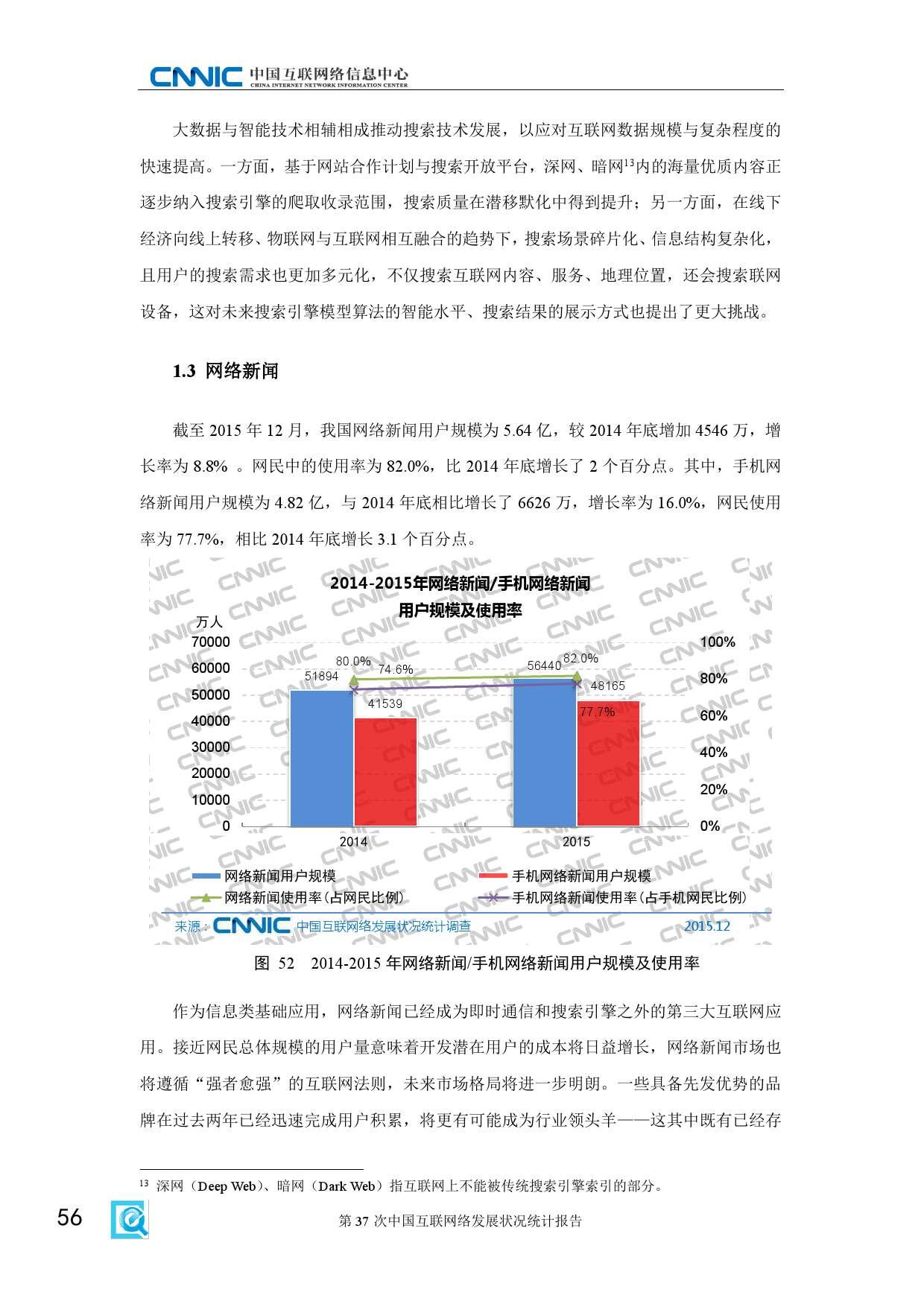 CNNIC:2015年第37次中国互联网络发展状况统计报告_000062