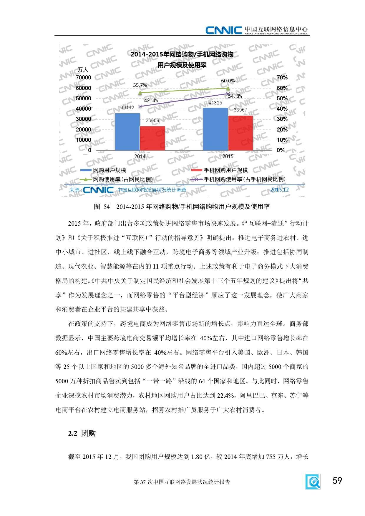 CNNIC:2015年第37次中国互联网络发展状况统计报告_000065