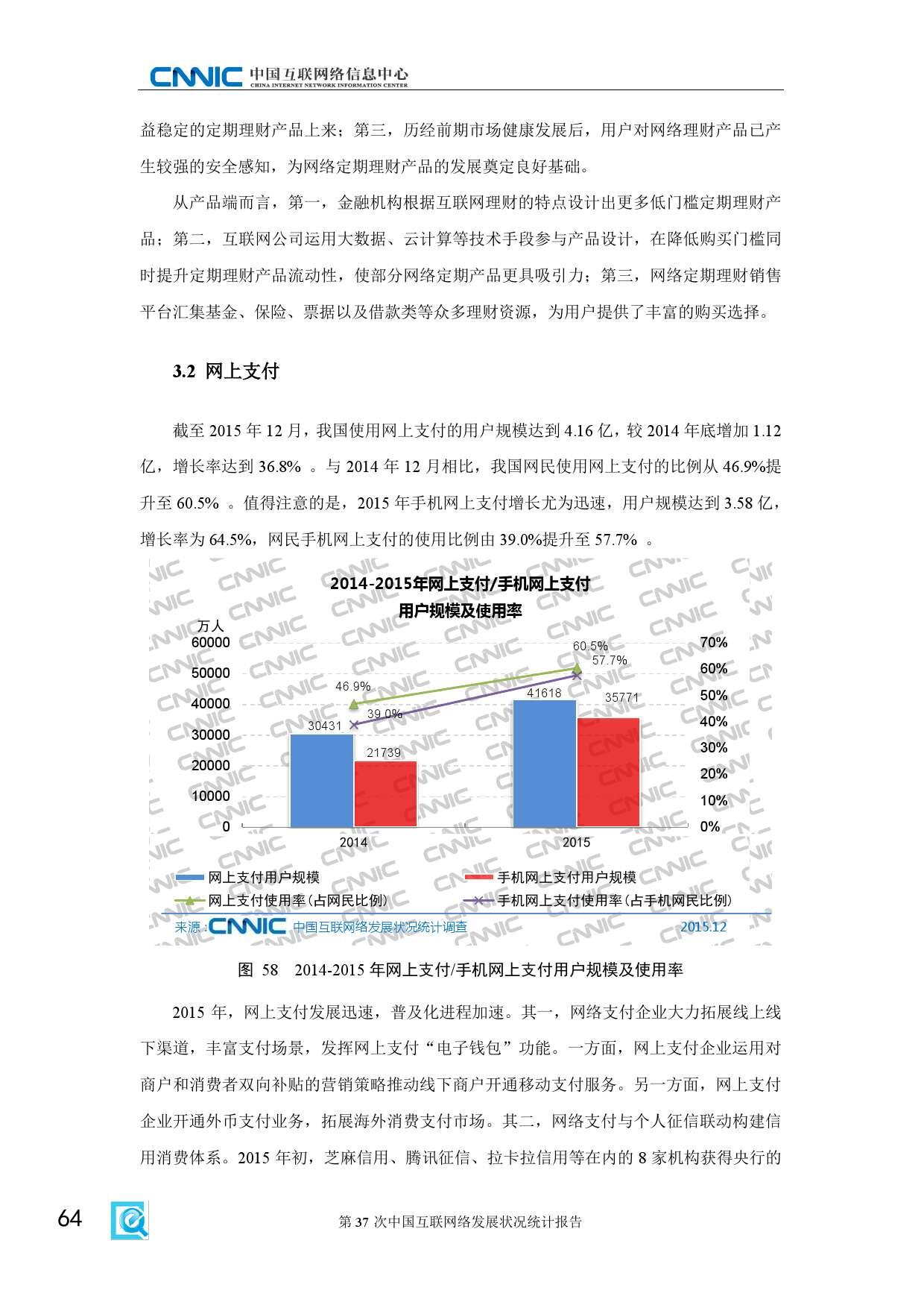 CNNIC:2015年第37次中国互联网络发展状况统计报告_000070