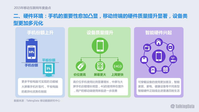 TalkingData:2015年移动互联网行业发展报告_000018