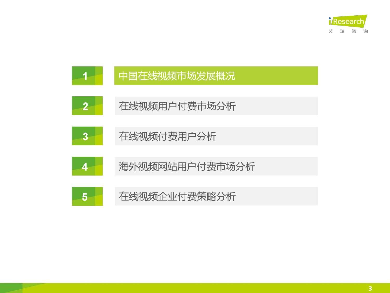 2015年中国在线视频用户付费市场研究报告_000003