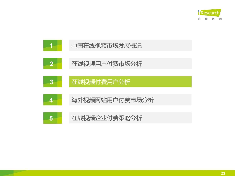 2015年中国在线视频用户付费市场研究报告_000021