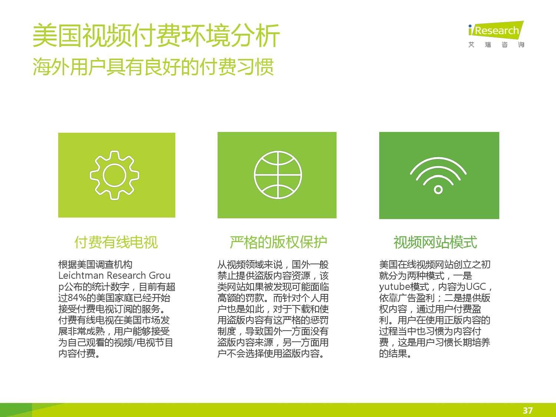 2015年中国在线视频用户付费市场研究报告_000037