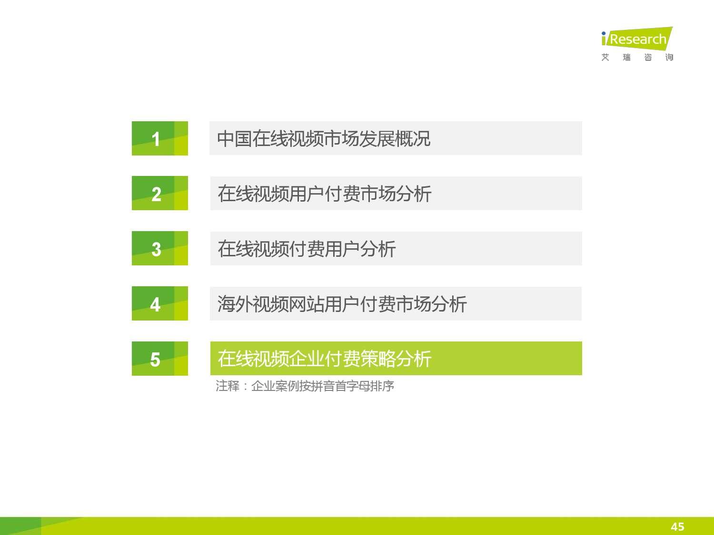 2015年中国在线视频用户付费市场研究报告_000045