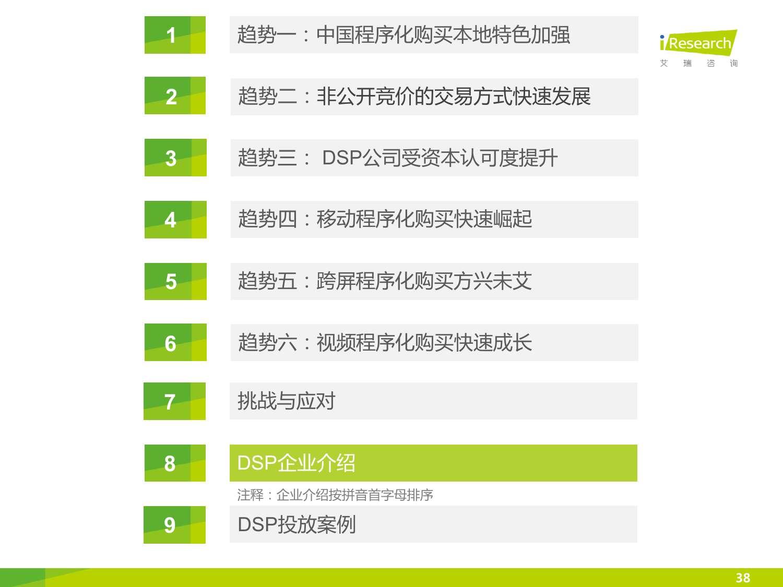 2015年中国DSP行业发展趋势报告_000038