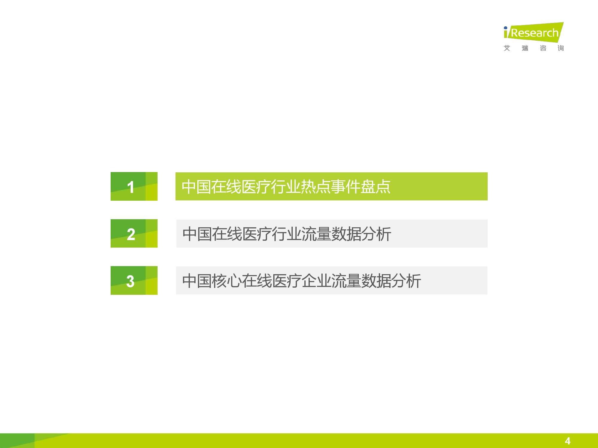 2016年中国在线医疗行业数据监测报告_000004