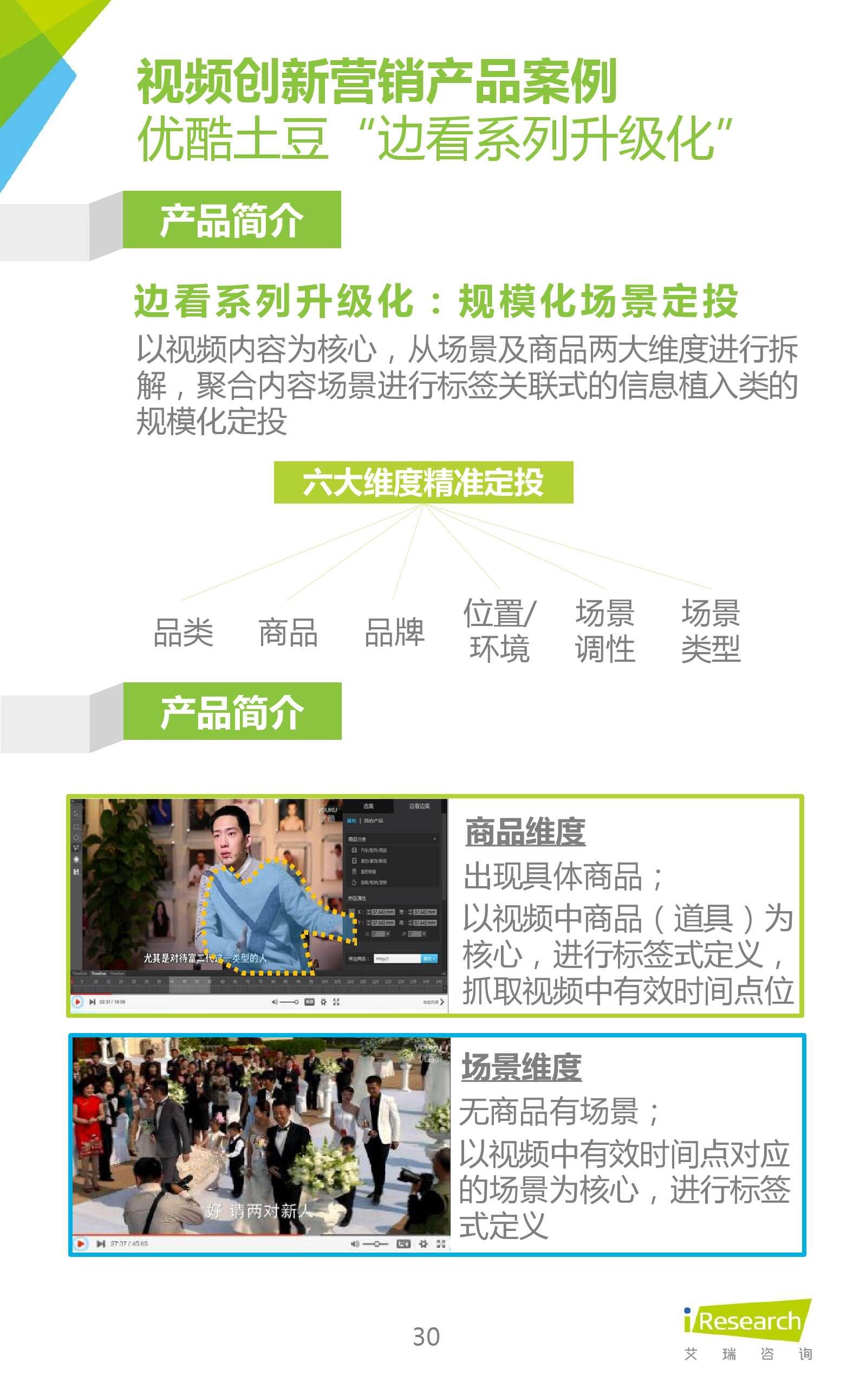 2016年中国在线视频企业创新营销研究_000030