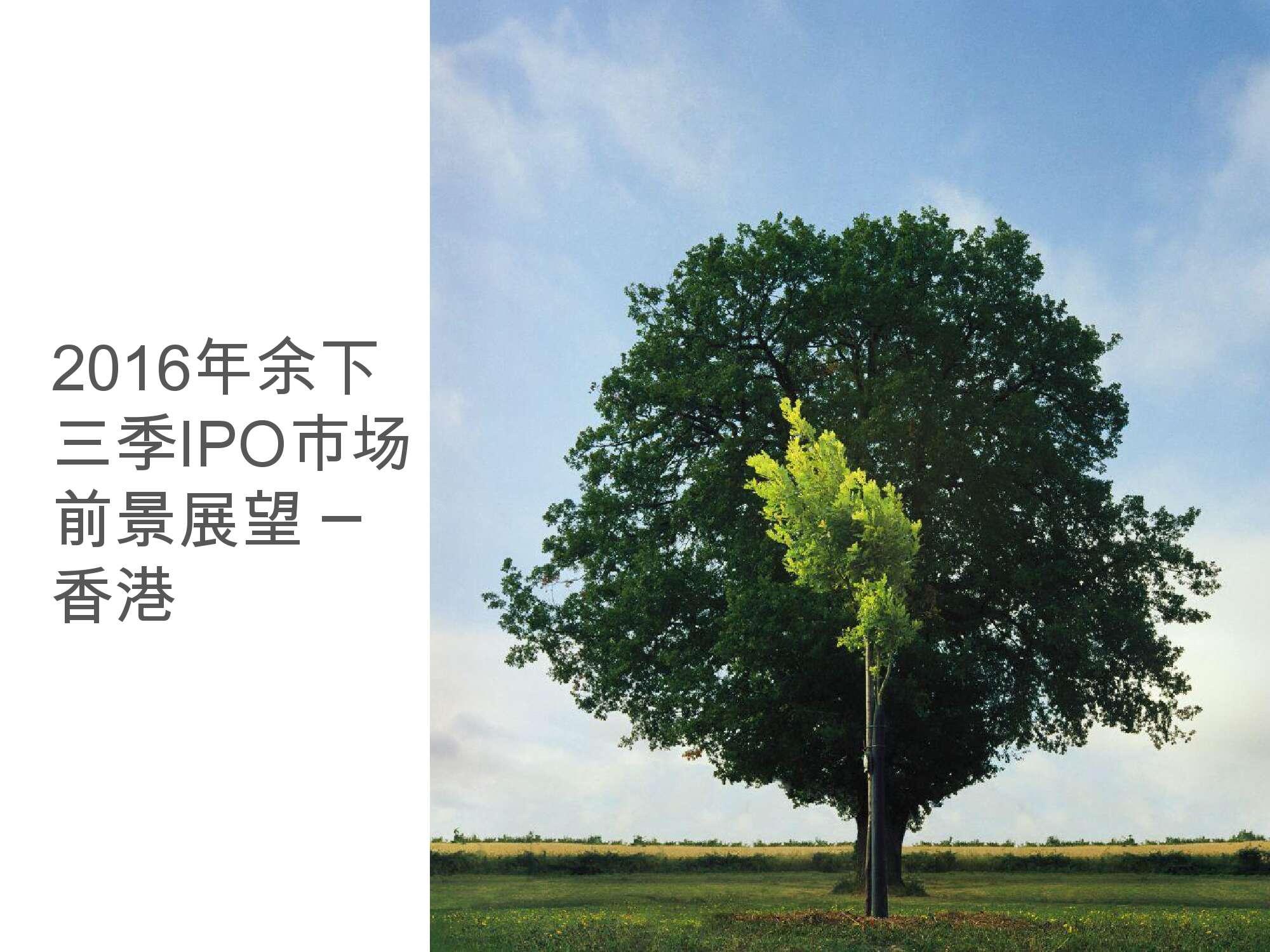 香港及中国大陆IPO市场2016年1季度_000028