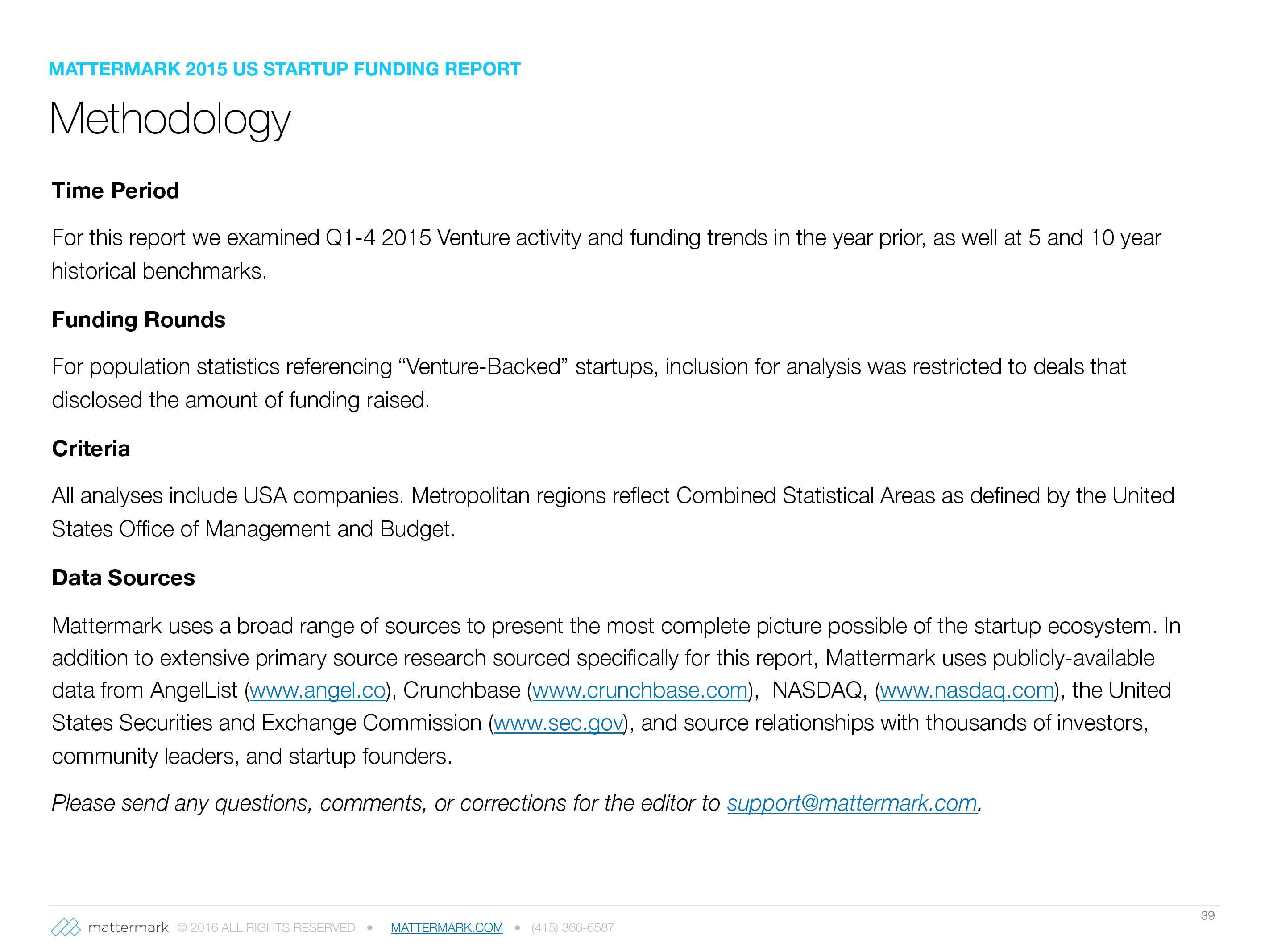 2015年美国创业公司风险投资发展趋势报告_000039
