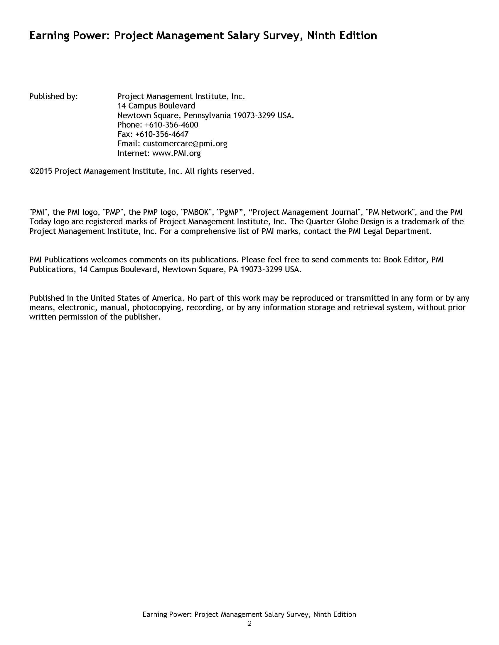 2015年项目管理薪酬调查报告_000003