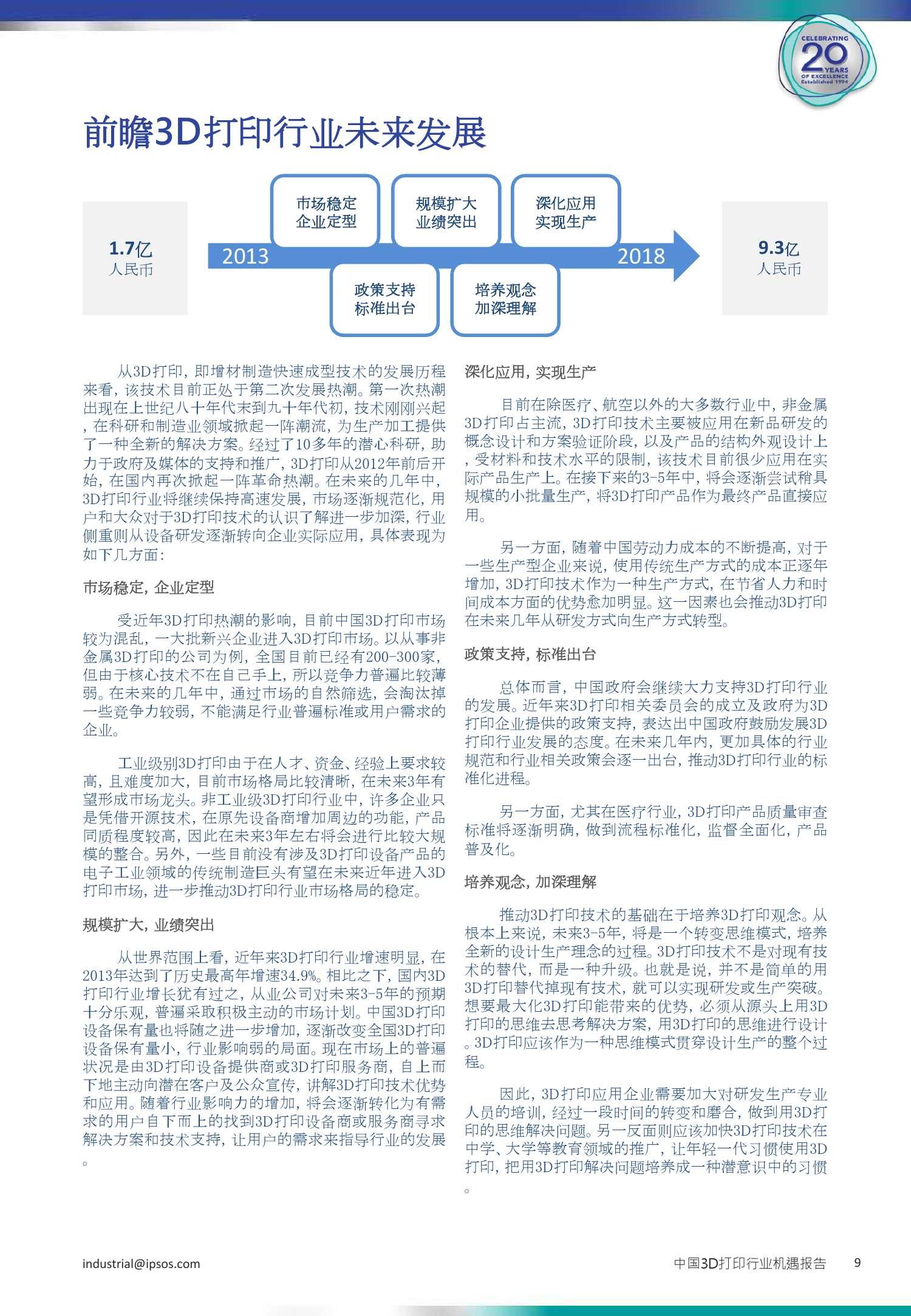 3D打印行业机遇报告_000009