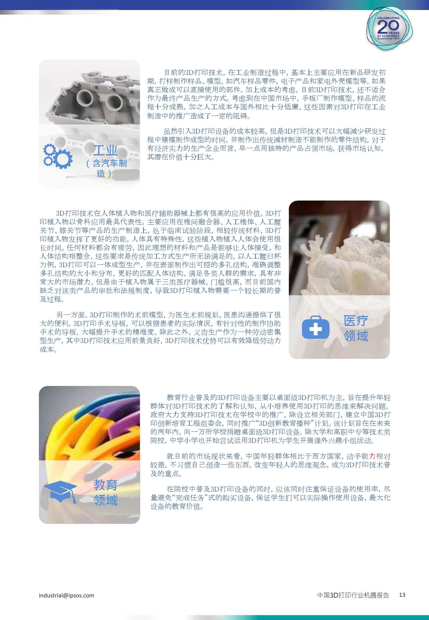 3D打印行业机遇报告_000013