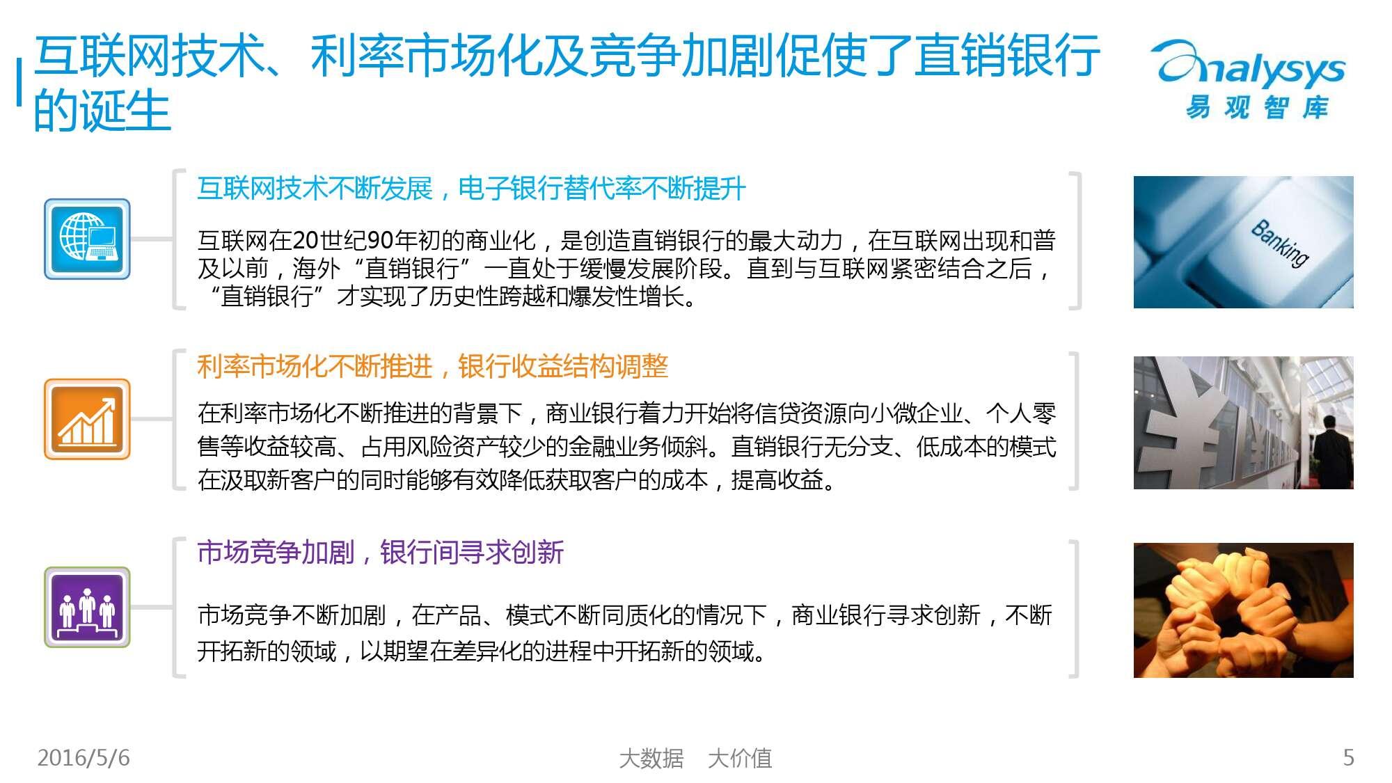2016年中国直销银行市场专题研究报告_000005