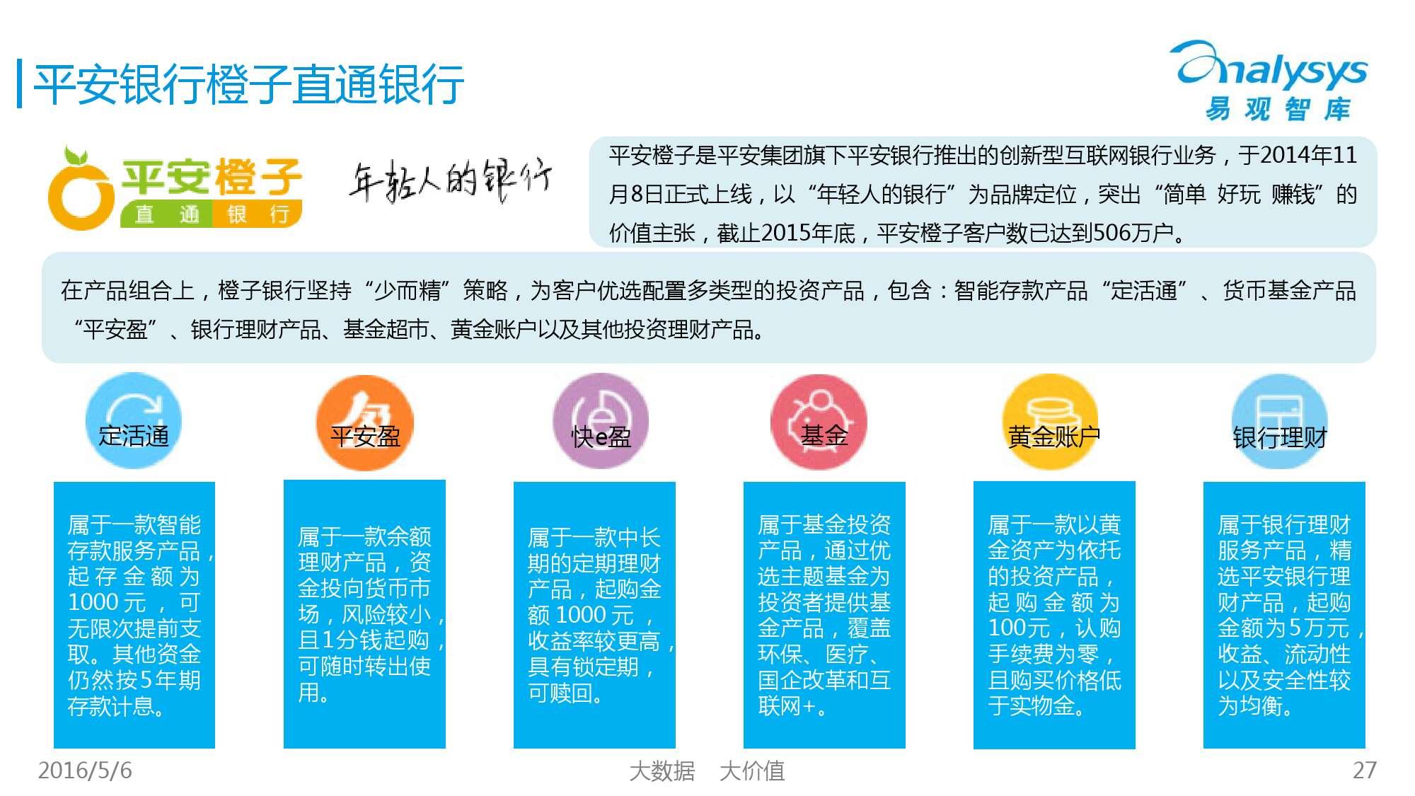 2016年中国直销银行市场专题研究报告_000027